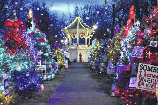 Christmas tree lanes have become popular sights as part of Gallipolis in Lights.