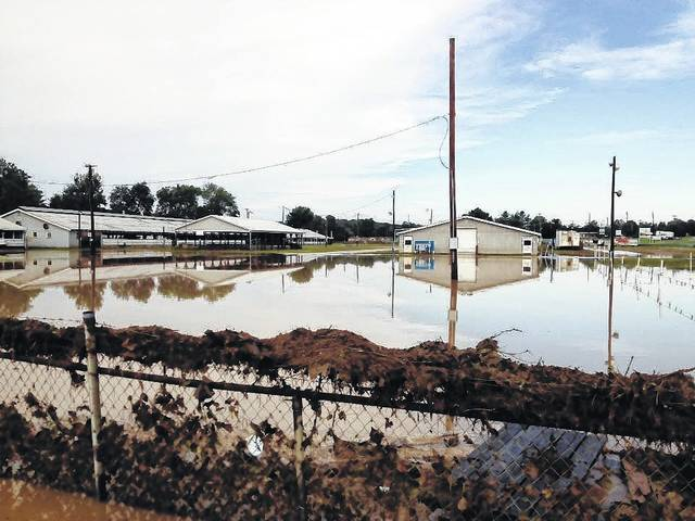 The Gallia Junior Fairgrounds commonly floods during heavy raining seasons. The Gallia Junior Fair relocation effort has been ongoing over past years.