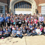 Third graders receive gift from Elks #107