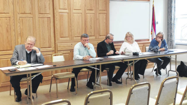 County officials lead discussion on the issue of raising the Gallia sales tax to strengthen the general fund and rising criminal justice money concerns.