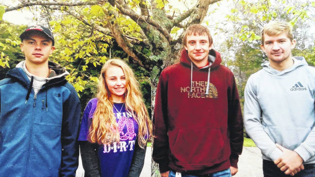 Four South Gallia FFA members competed at the FFA State Land and Soil Judging Contest, held on October 13, 2018 at Dawes Arboretum in Newark. South Gallia participated in the agricultural land judging portion in which soils are evaluated for their limitations, soil health, fertility and overall potential for agricultural production. The 2018 state-level competition hosted 96 teams representing 68 high schools with a combined 360 students competing. Nearly 400 schools and close to 2,000 students participated in the district contests to determine which schools would advance to the state contest. South Gallia's State Soil Judging Team was compromised of Andrew Small, Olivia Harrison, Justin Butler and Chad Bostic. Their adviser is Dave Pope.