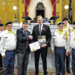 VFW takes part in inauguration ceremony