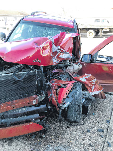 A driver was reportedly evacuated by air to a nearby medical facility Friday after a collision with a light pole and the Ohio Valley Bank Annex building at the intersection of Third Avenue and Olive Street. The crash is still being investigated by the Gallipolis Police Department. Chief Jeff Boyer reports there seemed to be minor damage to the building. Gallipolis Fire Department and Gallia EMS personnel were on scene as well.