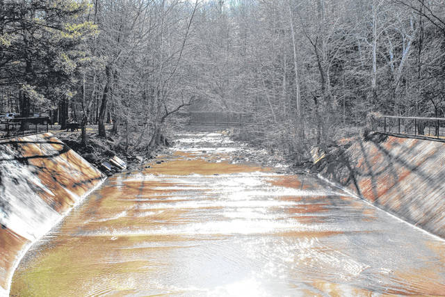 The area is experiencing a winter thaw, with temperatures expected to reach a high of 70 degrees on Thursday. Pictured is a February forest thaw in neighboring Lawrence County at Lake Vesuvias which sits in Wayne National Forest, the latter of which extends into Gallia County. The deadline for public feedback for the Sunny Oaks Project in Wayne National Forest, has been extended to Feb. 14. If approved, the Sunny Oaks Project aims to authorize the harvest of about 2,700 acres of forest through a mix of clearcut and shelterwood harvests. The project is located east of State Route 93, west of State Route 141, north of the community of Aid and south of the community of Oak Hill. The project area is located in parts of Jackson, Gallia, and Lawrence Counties.