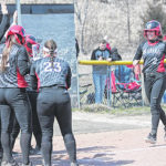 RedStorm softball cruises to sweep of Midway