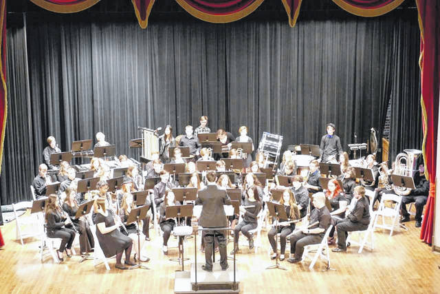 The Gallia Academy High School Symphonic Band, under the director of John Barrett, performed at the Ohio Music Education Association District 17 Adjudicated Event held at Shawnee State University, earlier this month, receiving a Superior (I) rating.