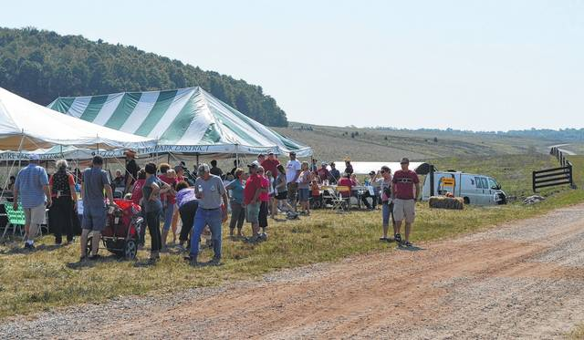 The Gallia Soil and Water District has long been an advocate of education in natural resources or agricultural studies. Pictured is a previous Soil and Water Farm Day in celebration of area agriculture.