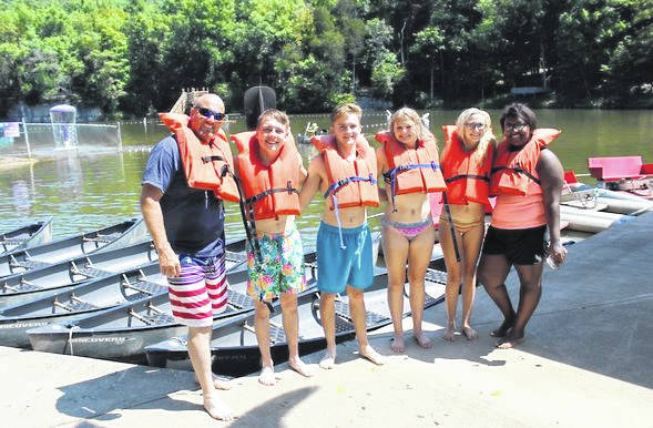 Summer of 2018, River Valley High School FFA traveled to Long's Retreat for bonding time and to work on ideas for the upcoming year.The officers are President Caleb McKnight, Vice President Josie Jones, Secretary Destiny Dotson, Treasurer Kennedey Lambert, Reporter Taylor Huck, Sentinel Jake Edwards, Student Advisor Joel Brumfield and FFA Advisor Matthew Huck. Six of the officers spent three days at the resort. There they came up with new ideas, ways to help the chapter and ways to make it better and more involved in the community. They also had some fun and went on water slides, swam in the lake, rode go-karts, went canoeing, watched movies, played games and played mini-golf.