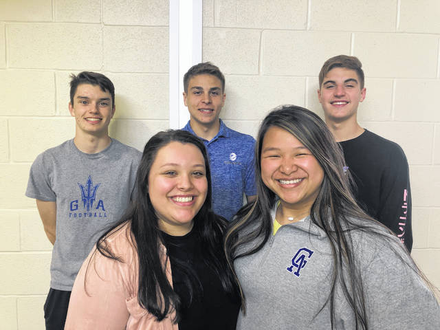 "Students from Gallia Academy Business Professionals of America are taking five of the 10 spots in the nation for cyber security when they advance to the BPA National Leadership Conference in Anaheim, Calif. next month. The students, pictured, are Seth Nelson, Evin Little, Adam Stout, Mackenzie James, Makenzie Yarger, Bailie Young, have utilized the after-school program to further their knowledge in the subject and prepare for the competition. According to a statement from Gallia Academy and Gallipolis City Schools, ""As part of the technology strand offered through Buckeye Hills, these students are learning valuable lessons they can use in their future careers while being offered these kind of great experiences through BPA. Shawn Northup, technology Teacher at GAHS, is the classroom teacher responsible for their success."