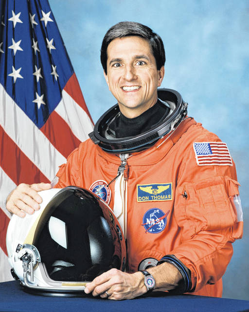 NASA Astronaut Dr. Don Thomas will be the commencement speaker for the 143rd commencement ceremony at the University of Rio Grande and Rio Grande Community College.