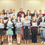 Holzer science awards banquet honors students