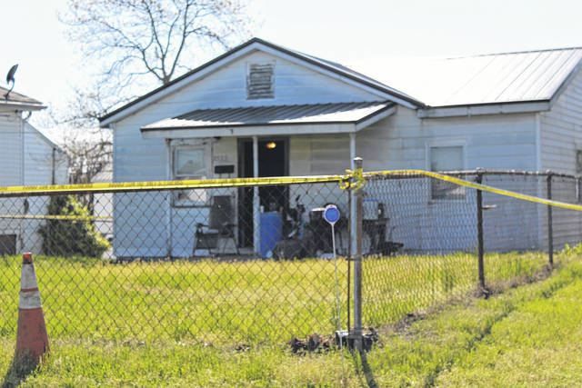 Law enforcement secured this home on Monday afternoon after a woman was found with a reported gunshot wound to the head. A Point Pleasant man has been charged in her murder, according to the Point Pleasant Police Department.