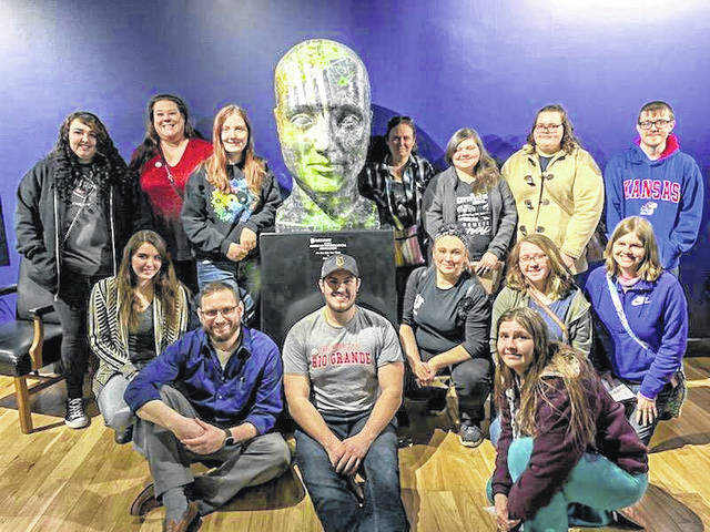 Students from the University of Rio Grande and Rio Grande Community College History of Psychology class and the Psychology Club visited the Cummings Center for the History of Psychology in Akron, Ohio. The center includes a museum and archive dedicated to historical psychology artifacts.