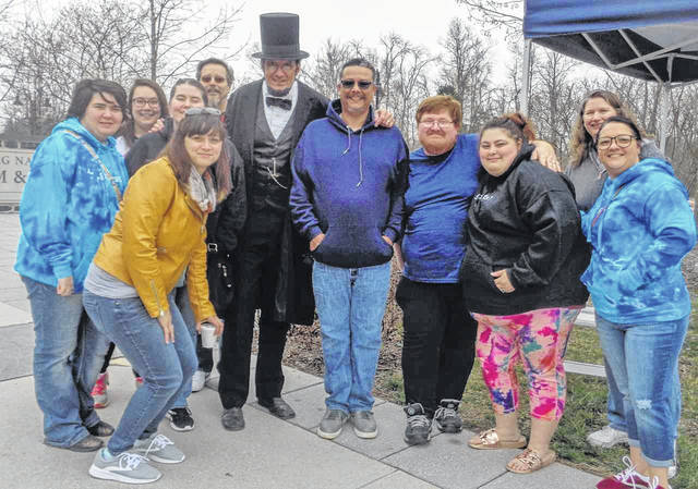 Students in Dr. Sam Wilson's class traveled to Gettysburg, Pa. as part of a class project, giving research presentations on the lives of soldiers as they toured the battlegrounds.