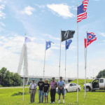 New flags placed at Bridge of Honor