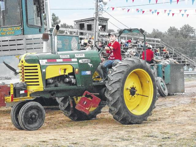 Pictured is a scene from a past Antique Tractor Pull event at the West Virginia State Farm Museum. Antique Tractor Pull days are scheduled for June 1, July 6, Sept. 7, and Nov. 2.