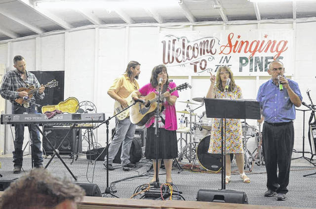 "The 37th and final ""Singing in the Pines"" will be held at the Union Campground on June 14 and 15. The event will begin at 6 p.m. on Friday, and again at 1 p.m. on Saturday, and will be held rain or shine. Pictured is a scene from last year's event."