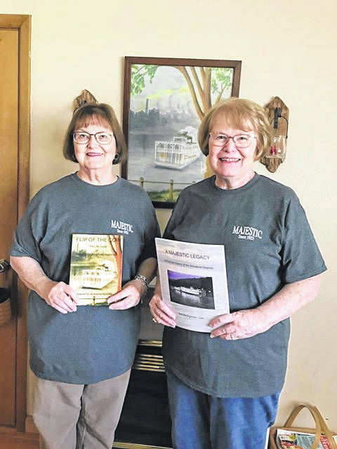 """Sisters, Sandy Reynolds Clark and Jackie Reynolds, will be holding a book signing for their works """"A Majestic Legacy"""" and """"The Flip of the Coin"""" this Saturday from 11 a.m.-2 p.m. at the Point Pleasant River Museum and Learning Center."""