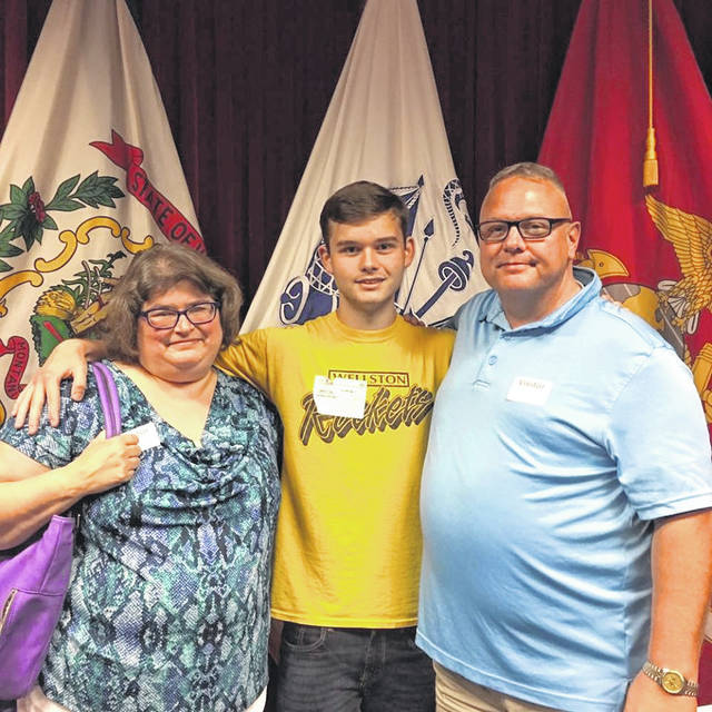 Wellston resident, Andrew Michael Compston, enlisted in the Ohio Army National Guard on Wednesday June 26, 2019 at the MEPS Center in Columbus, for an eight-year commitment. Andrew is a graduate of River Valley High School, Class of 2019, and is presently a freshmen attending the University of Rio Grande and Rio Grande Community College. He will be attending his Basic Training (12 weeks) at Fort Jackson, South Carolina, and complete his Army Individual Training (eight weeks) for his military occupation/specialty 92A10, Automated Logistics Specialist, at Fort Lee, Virginia. Andrew will be going to Basic as a guaranteed E-2 because he attained the rank of Eagle Scout in the Boy Scouts of America. Upon completion of U.S. Army Basic Training and AIT, he will be assigned to Echo Company 237th Forward Support Battalion stationed at Springfield - Beckly Air National Guard Base in Springfield. The 237th Forward Support Battalion falls under the command of the 37th Armored Brigade in the Ohio Army National Guard. Andrew is the son of Kevin and Angela Compston of Wellston.