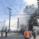 7 departments respond to fire