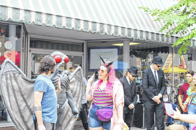 The Mothman Festival brought in thousands of people to Mason County over the weekend.