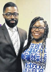 Rev. Damion Sneed and wife, Jennifer.