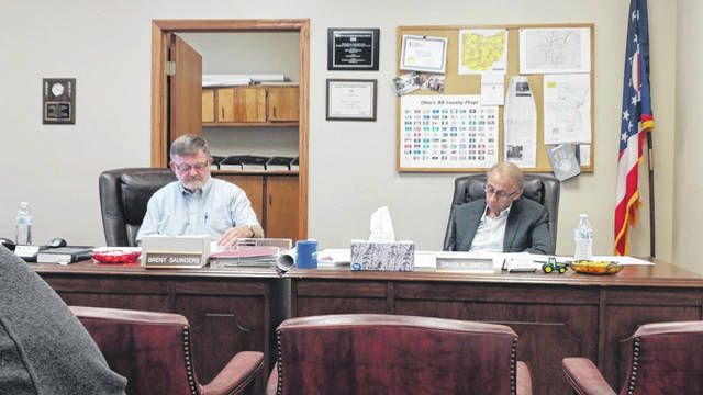 Gallia County Commissioners typically meet Thursday morning at the Gallia Courthouse, starting at 9 a.m.
