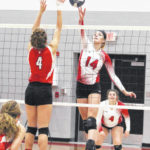 Gibbs named to Class A volleyball team