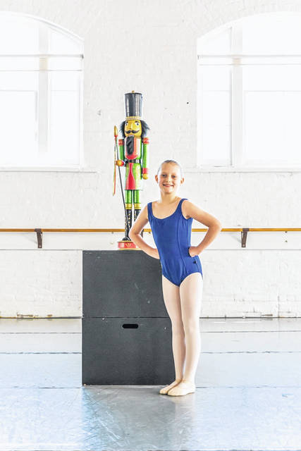 One of Central Ohio's holiday traditions since 1974 - BalletMet's The Nutcracker - will be presented from Dec. 13 to 28 at the historic Ohio Theatre. Participating in the production from Gallia County will be Abigail Cody of Patriot.