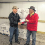 Steve Evans Sausage donates in honor of Jewell Evans