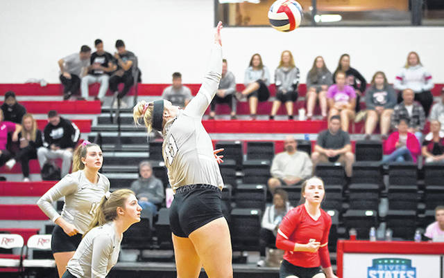Rio Grande's Malorie Colwell had 15 kills and 11 digs in Tuesday night's 3-1 loss to West Virginia University-Tech in Beckley, W.Va.