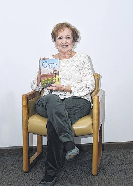 "Hilda Austin, pictured, has recently completed her novel ""Grace's Journey."""