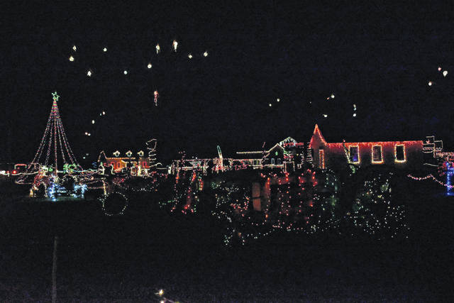 The West Virginia State Farm Museum held their annual Christmas light show from Dec. 6-15 at 6-9 p.m. each evening.