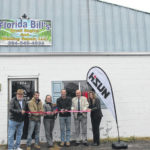 Ribbon cutting for 'Florida Bill's'