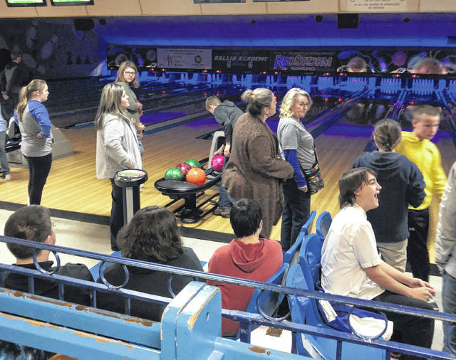 Gallipolis Junior Women's Club hosted around 120 students for its first Jingle Bell Bowling event.