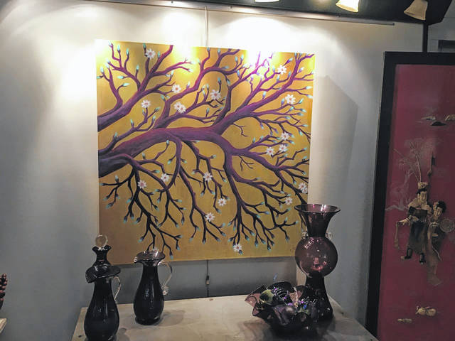 Gallery at 409 is filled with art for the gala on Thursday evening from 6-9 p.m.
