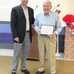 Allen recognized with 'Exemplary Service Award'