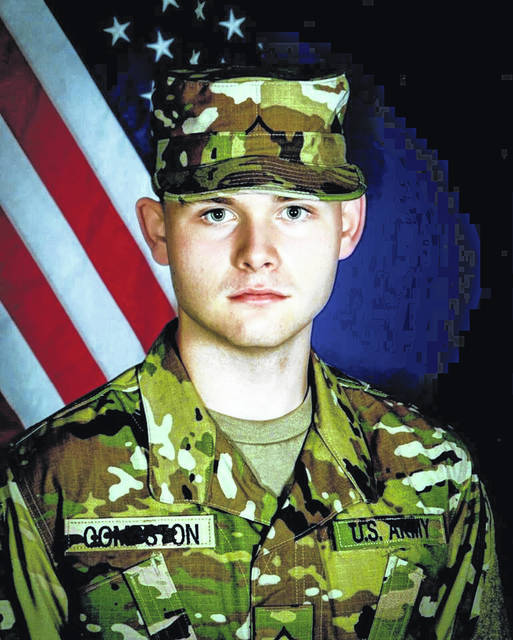 Pvt-2 Andrew Michael Compston, 2019 alumni of River Valley High School, graduated U.S. Army Basic Training at Ft. Jackson, South Carolina, on Feb. 13, 2020. Andrew is presently attending the U.S. Army Quartermaster School AIT 92A10 at Ft. Lee, Virginia. Pvt-2 Andrew Compston is attached to Gulf Company, 244th Quartermaster Battalion at Ft. Lee, VA. Andrew is a soldier assigned to the Ohio Army National Guard. He is a freshmen at the University of Rio Grande. Andrew is the son of Kevin and Angela Compston of Wellston.