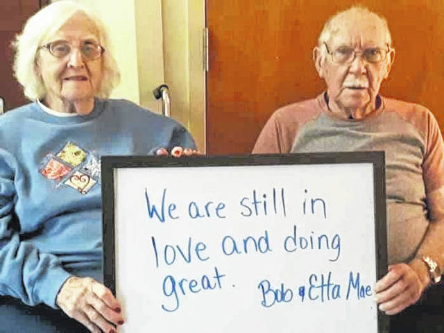 Bob and Etta Mae Hill's special message to their loved ones and community.