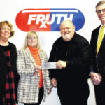 Fruth donates to Chamber Scholarship Fund