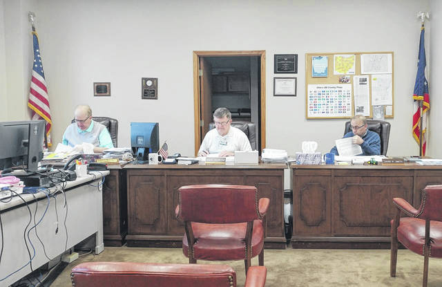 Gallia Commissioners typically meet at 9 a.m., Thursdays, in the Gallia Courthouse. With the COVID-19 outbreak, commissioners ask that the public call ahead for any business to be done at the courthouse.