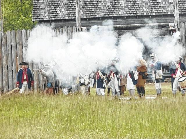 The Siege of Fort Randolph was scheduled for May 15-17 is canceled due to the COVID-19 outbreak.