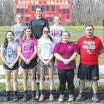 2020 South Gallia girls track and field team