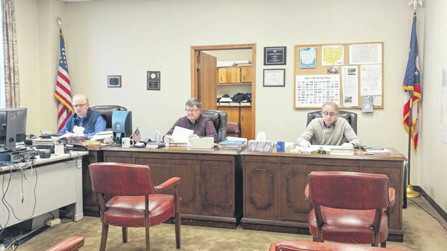 Gallia Commissioners voiced approval that Gallia Sheriff Matt Champlin should continue efforts to move the Gallia Vehicle Impound Lot from Cheshire to Shawnee Lane near Gallipolis.