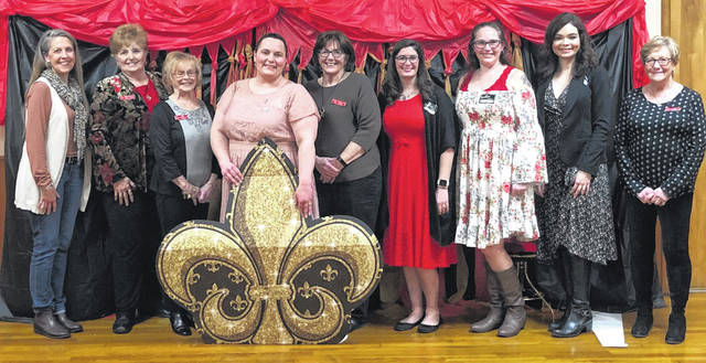 The Gallipolis Junior Women's Club was recently recognized with a set of awards.