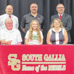 Harrison signs with Marshall track