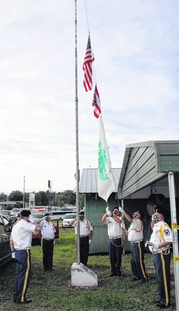 VFW Post #4464 members faithfully return for the fair's official opening.