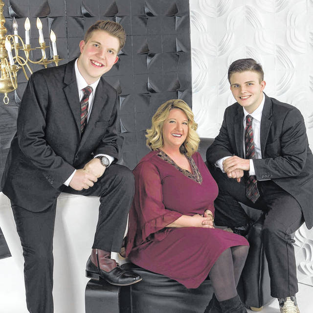 The trio Covered By Love, pictured, will be joined by Jimmy Howson, at this season's finale of Gospel in the Park on Friday in Gallipolis City Park. (Covered By Love | Courtesy)