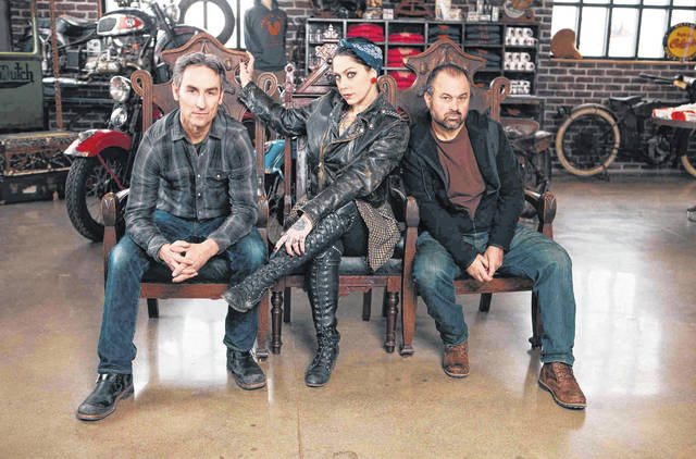 American Pickers has been on the air since 2010, and is currently in its 21st season. It stars Mike Wolfe, Frank Fritz and Danielle Colby, pictured. The show previously visited Point Pleasant, W.Va. in 2014 and plans to return to Ohio soon. (Photo courtesy American Pickers)