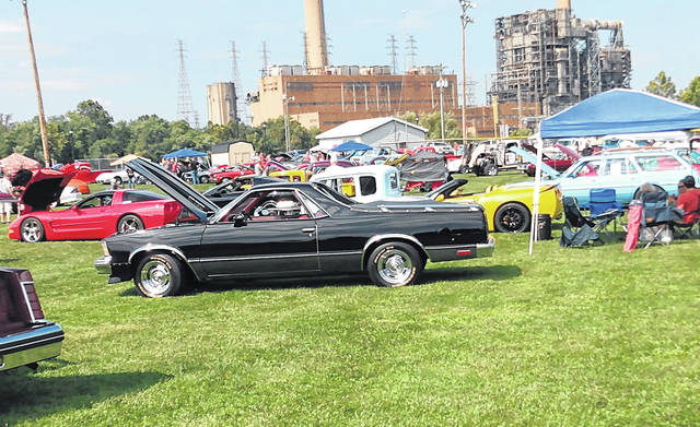 More than 100 vehicles were on display during the 16th annual Cruisin' Saturday Night Car Show last weekend in Racine.